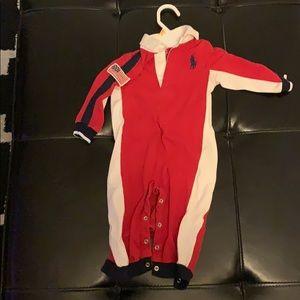 Polo baby onesie/bodysuit